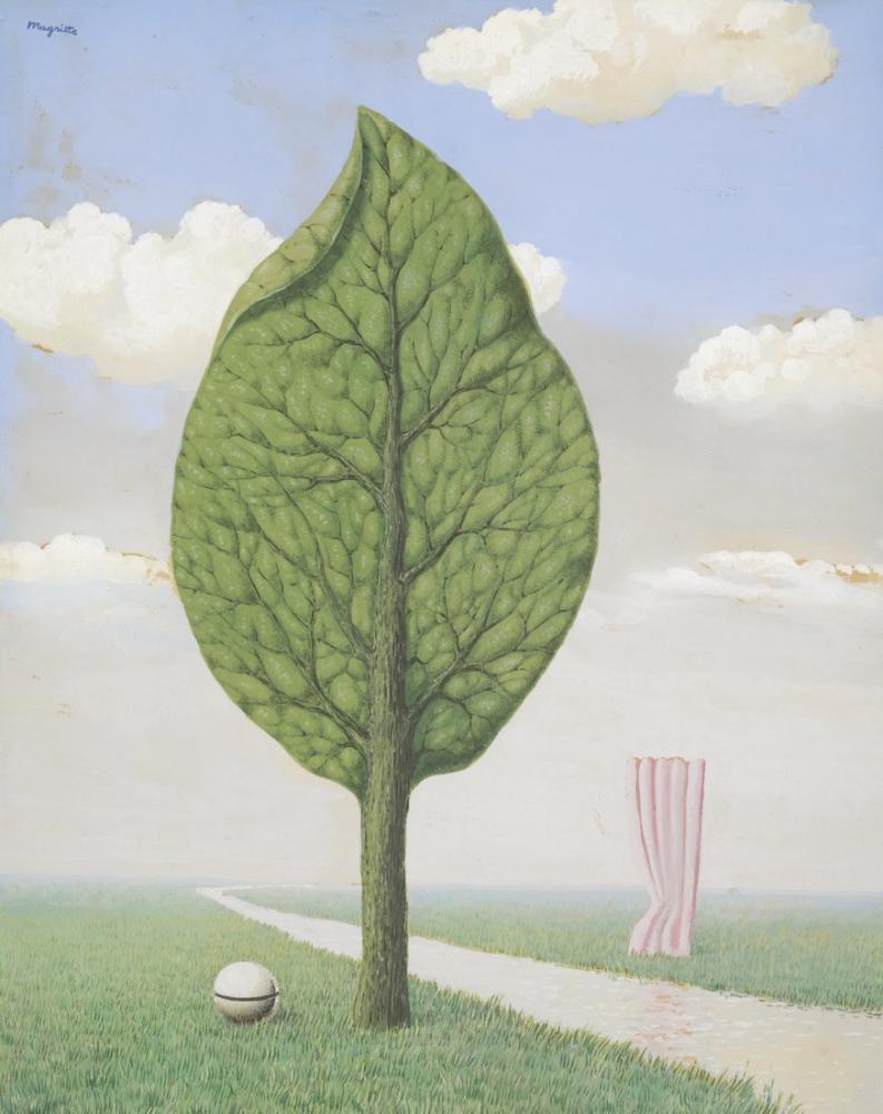 Rene Magritte Dev, Kanvas Tablo, René Magritte, kanvas tablo, canvas print sales