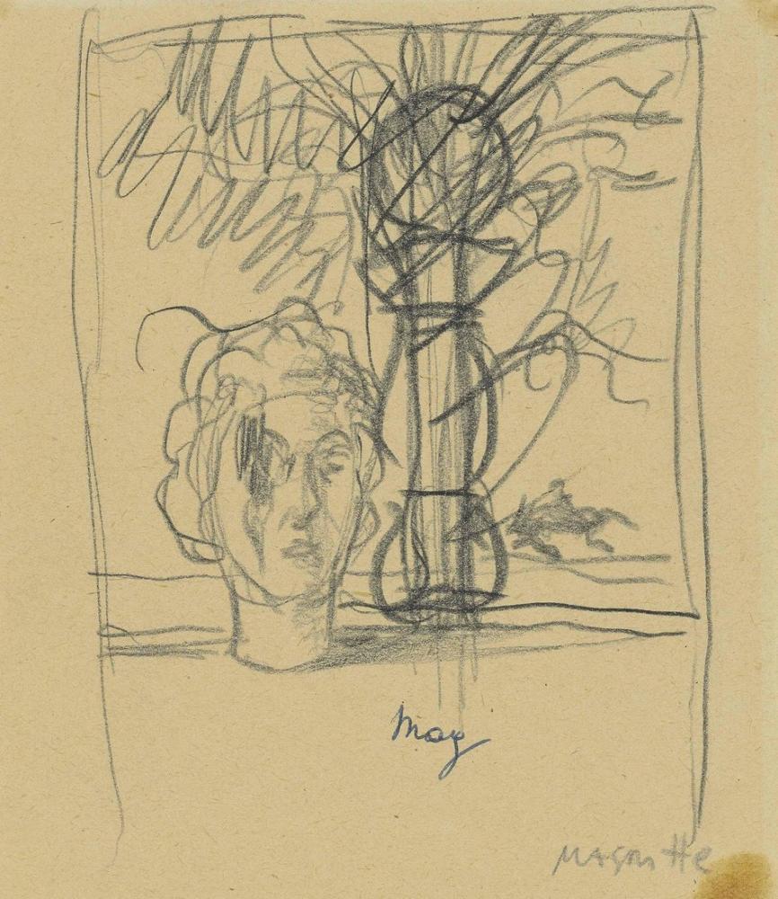 René Magritte Hatıra, Kanvas Tablo, René Magritte, kanvas tablo, canvas print sales