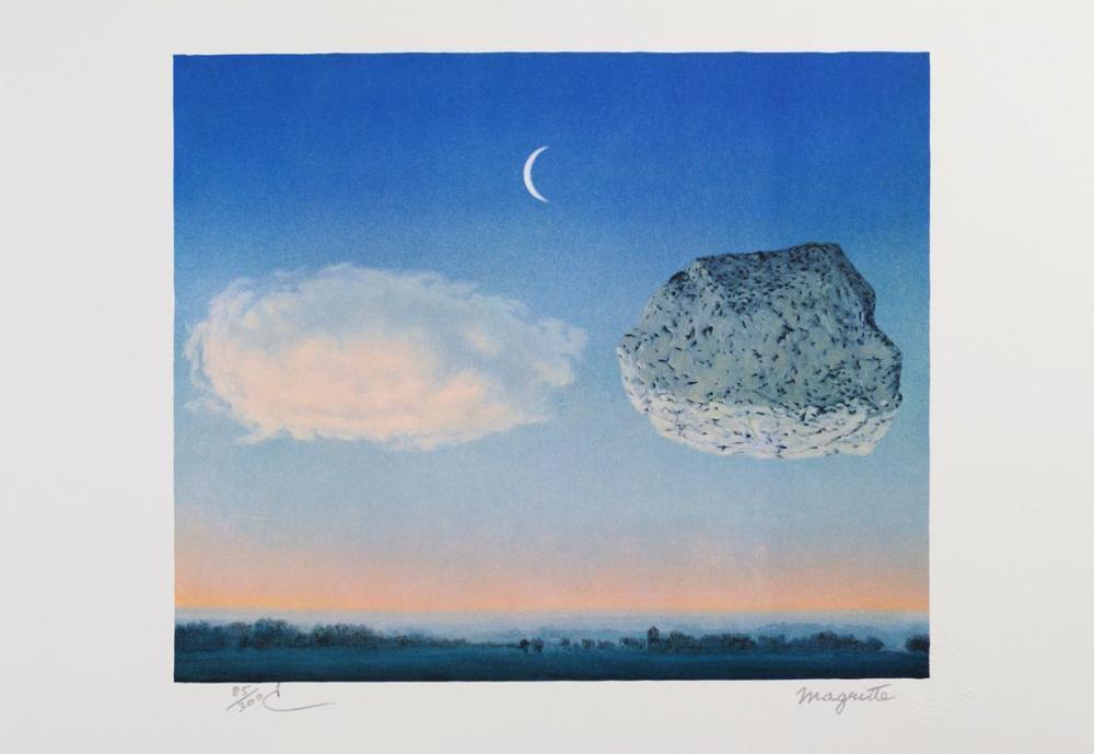Rene Magritte Argonne Savaşı, Kanvas Tablo, René Magritte, kanvas tablo, canvas print sales