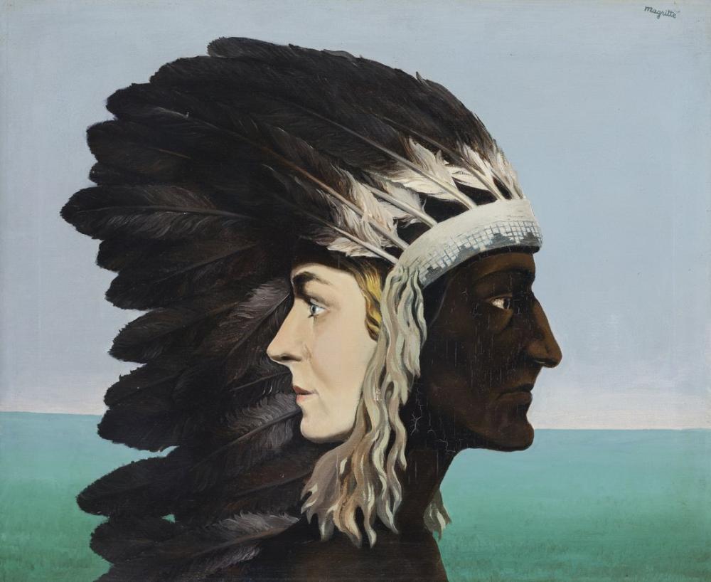 Rene Magritte Sabah Yıldızı, Kanvas Tablo, René Magritte, kanvas tablo, canvas print sales