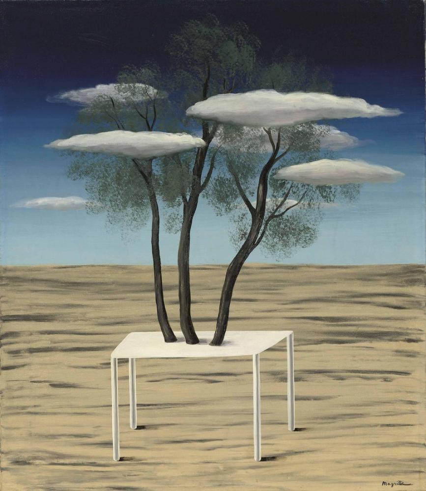 Rene Magritte Vaha, Kanvas Tablo, René Magritte, kanvas tablo, canvas print sales