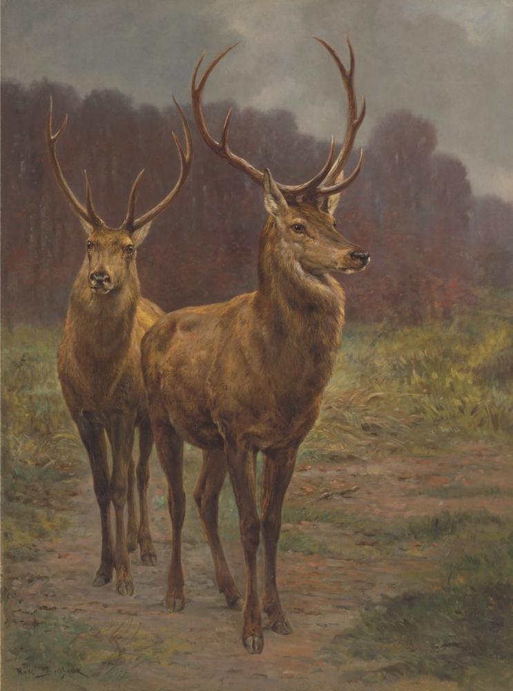 Rosa Bonheur, Orman Hükümdarları, Kanvas Tablo, Rosa Bonheur, kanvas tablo, canvas print sales