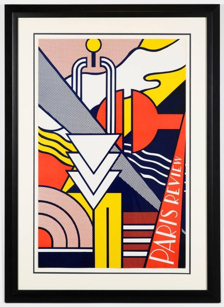 Roy Lichtenstein, Paris İnceleme 1966, Figür, Roy Lichtenstein, kanvas tablo, canvas print sales