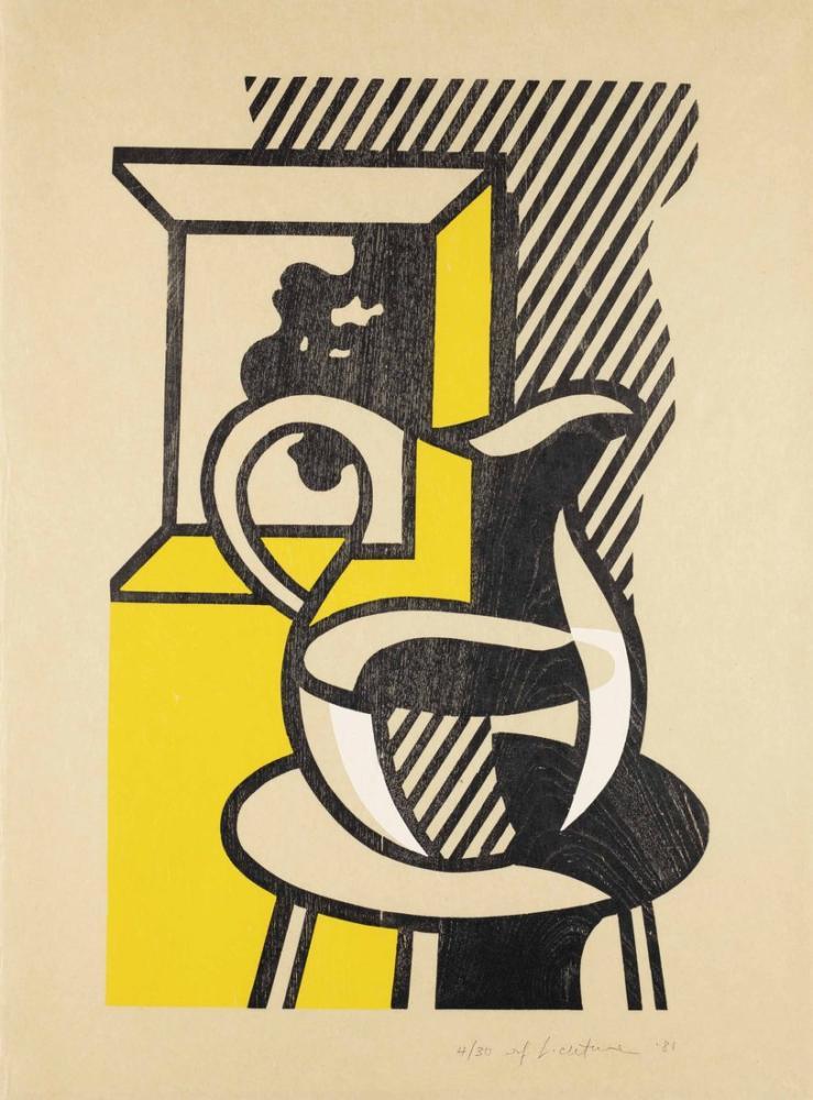 Roy Lichtenstein, Değerleme, Figür, Roy Lichtenstein, kanvas tablo, canvas print sales