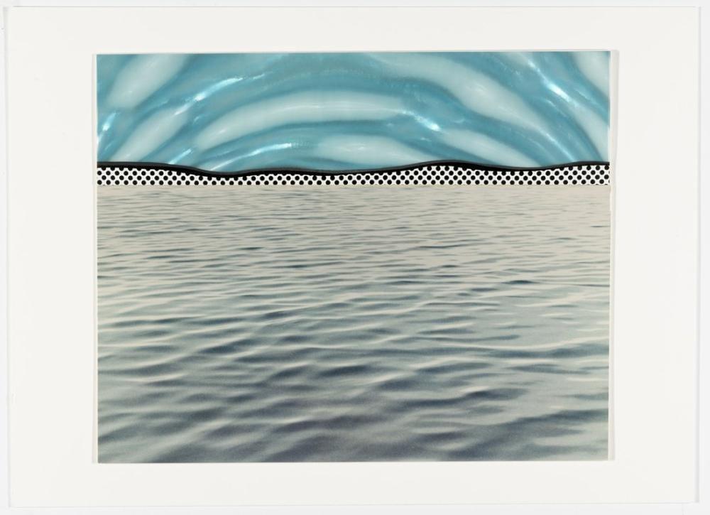 Roy Lichtenstein, Lekeli Cam, Figür, Roy Lichtenstein, kanvas tablo, canvas print sales