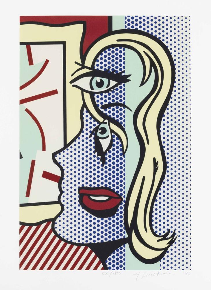 Roy Lichtenstein, Sanat Eleştirisi, Figür, Roy Lichtenstein, kanvas tablo, canvas print sales