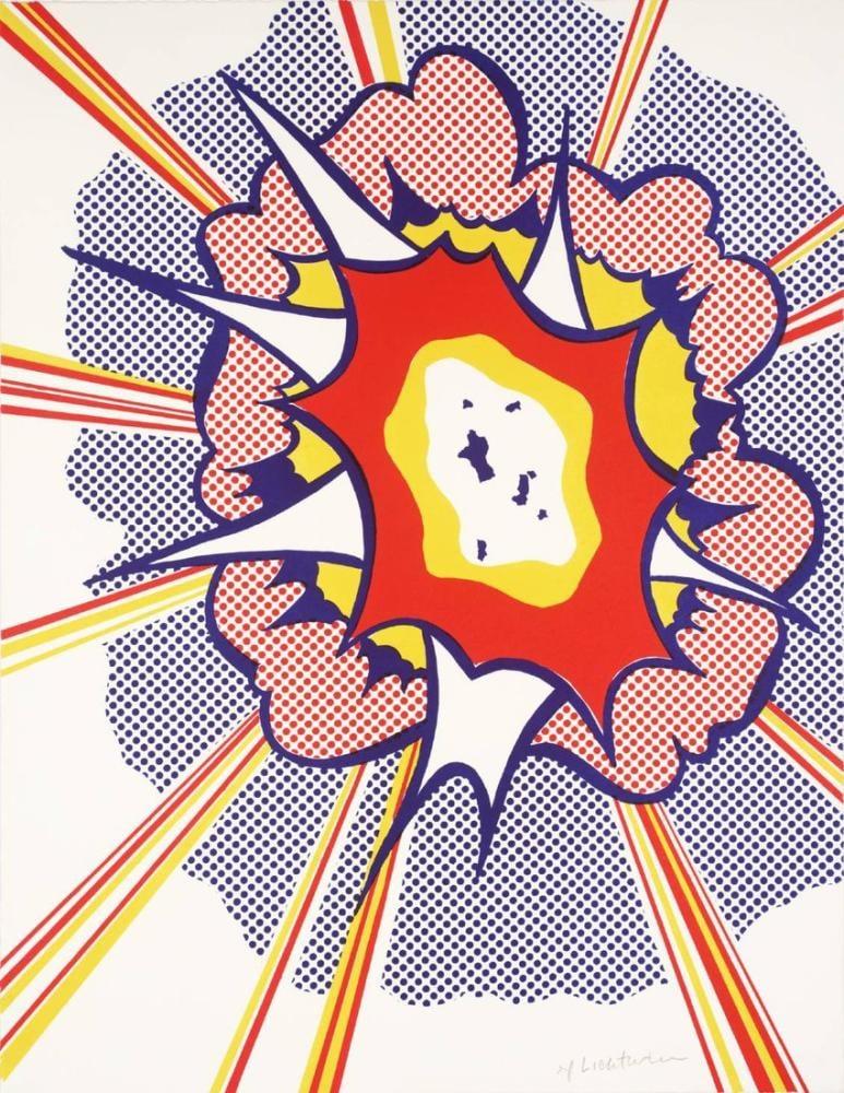 Roy Lichtenstein, Whaam!, Figür, Roy Lichtenstein, kanvas tablo, canvas print sales