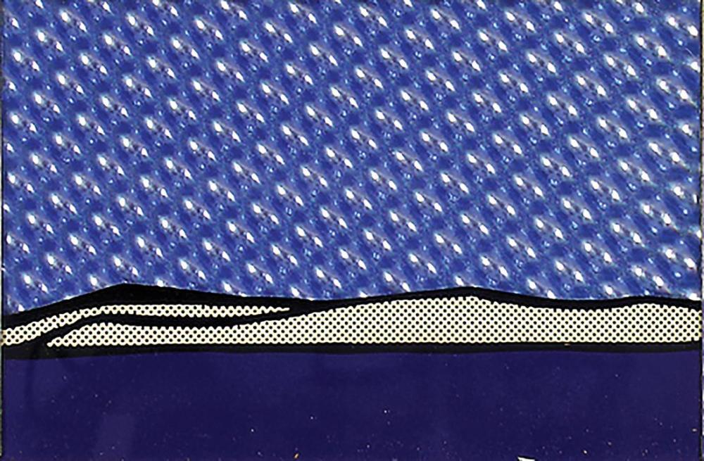 Roy Lichtenstein, Kara, Figür, Roy Lichtenstein, kanvas tablo, canvas print sales