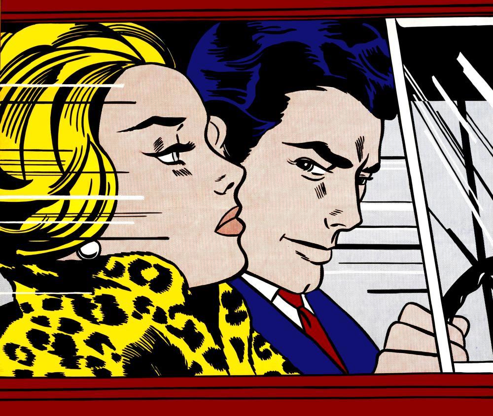 Roy Lichtenstein, Arabada I, Figür, Roy Lichtenstein, kanvas tablo, canvas print sales