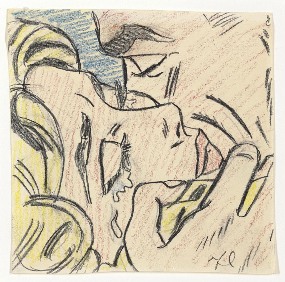 Roy Lichtenstein, Öpücük Çizimi V, Figür, Roy Lichtenstein, kanvas tablo, canvas print sales
