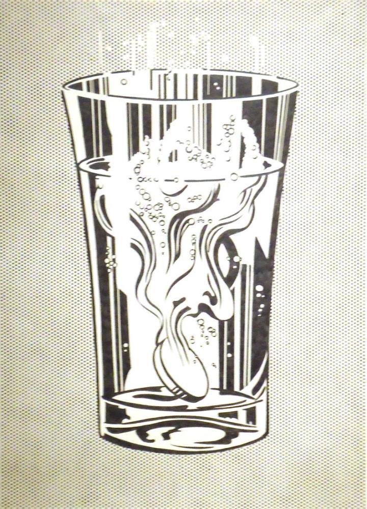Roy Lichtenstein, Alka Seltzer, Figür, Roy Lichtenstein, kanvas tablo, canvas print sales