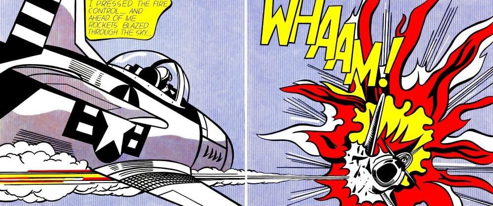 Roy Lichtenstein, whaam, Figür, Roy Lichtenstein, kanvas tablo, canvas print sales