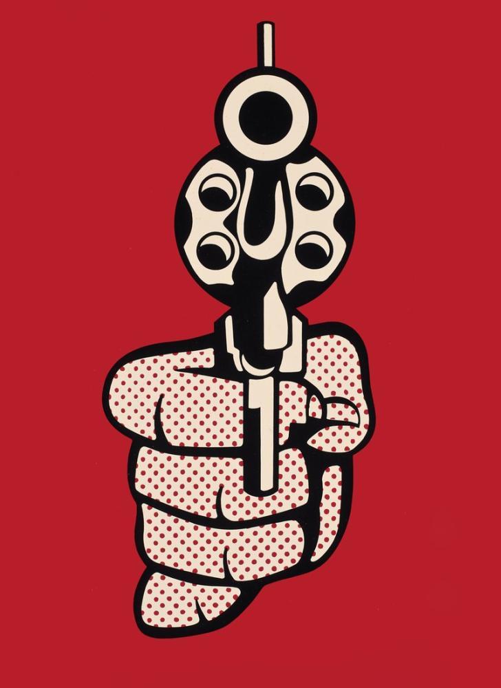 Roy Lichtenstein, Tabanca, Figür, Roy Lichtenstein, kanvas tablo, canvas print sales