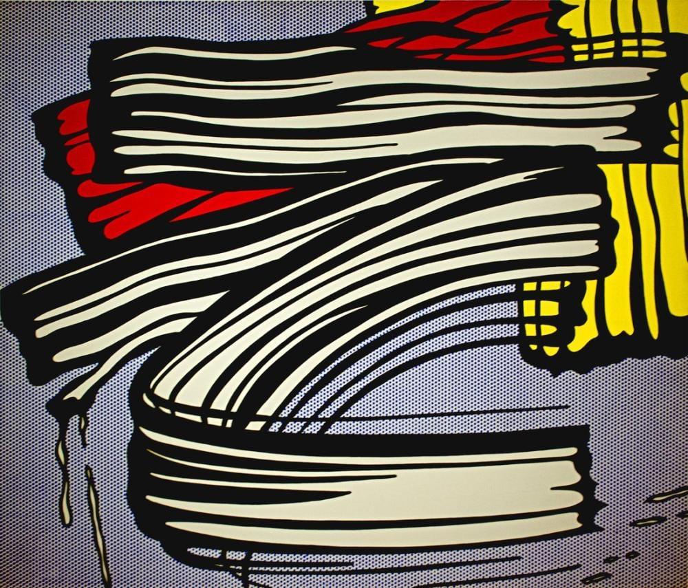 Roy Lichtenstein, Küçük Büyük Resim, Figür, Roy Lichtenstein, kanvas tablo, canvas print sales