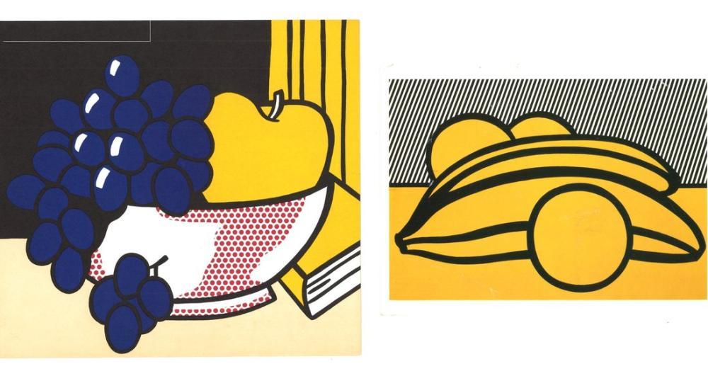 Roy Lichtenstein, Yiyecek Natürmort, Figür, Roy Lichtenstein, kanvas tablo, canvas print sales