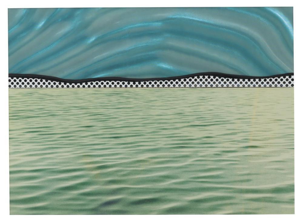 Roy Lichtenstein, On Manzara, Kanvas Tablo, Roy Lichtenstein, kanvas tablo, canvas print sales