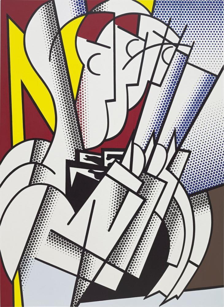 Roy Lichtenstein, Kondüktör, Figür, Roy Lichtenstein, kanvas tablo, canvas print sales