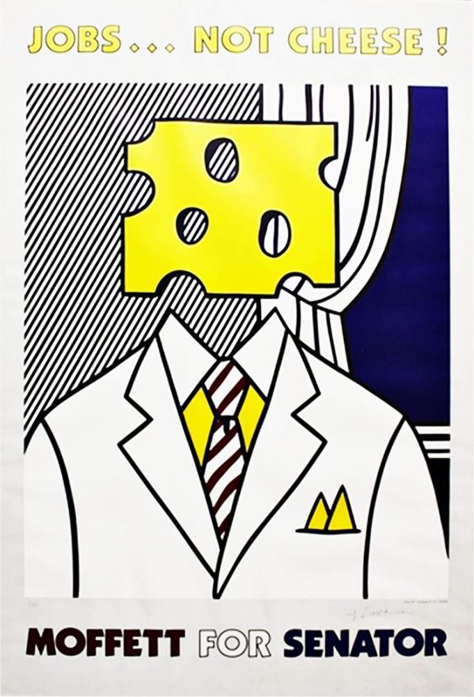 Roy Lichtenstein, İşler Peynir Değil, Figür, Roy Lichtenstein, kanvas tablo, canvas print sales