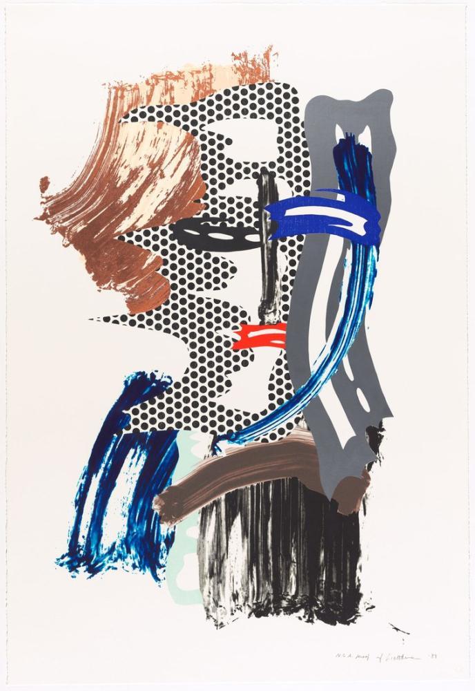 Roy Lichtenstein, Maske, Figür, Roy Lichtenstein, kanvas tablo, canvas print sales