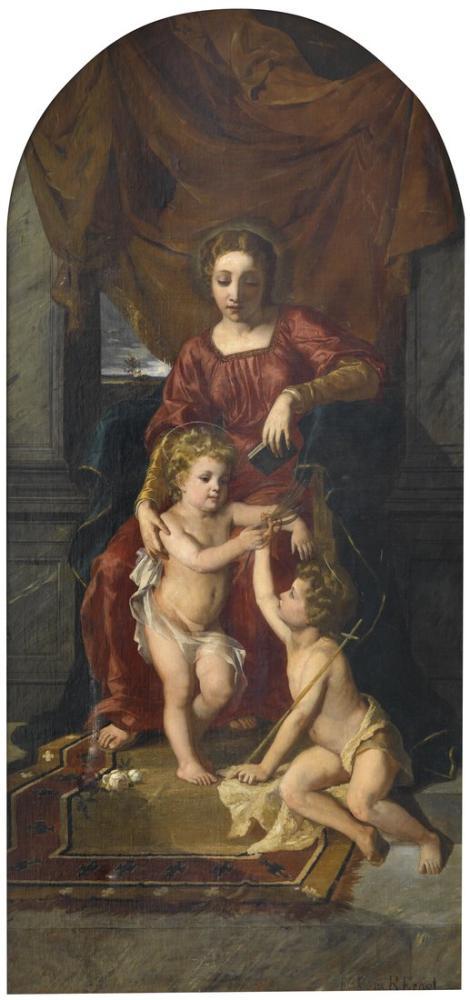 Rudolf Ernst Maria Johannes Und Jesuskind, Orientalism, Rudolf Ernst, kanvas tablo, canvas print sales
