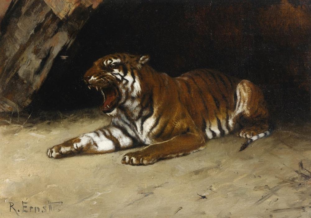 Rudolf Ernst Kaplan, Oryantalizm, Rudolf Ernst, kanvas tablo, canvas print sales