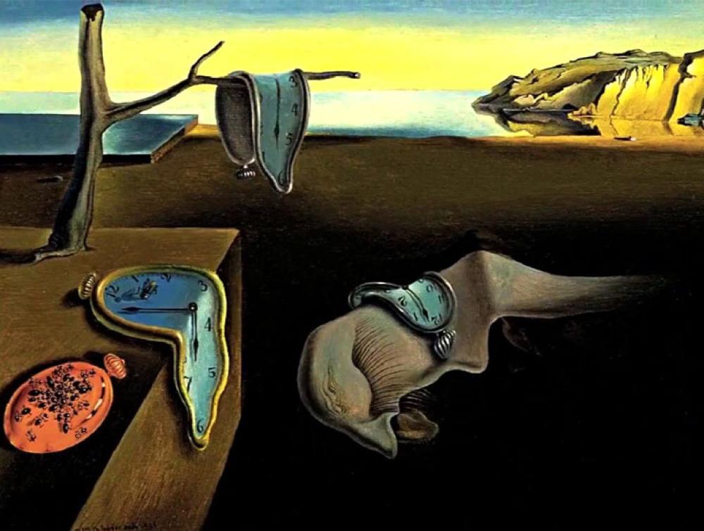 Salvador Dali Belleğin Azmi (Eriyen Saatler), Kanvas Tablo, Salvador Dali, kanvas tablo, canvas print sales