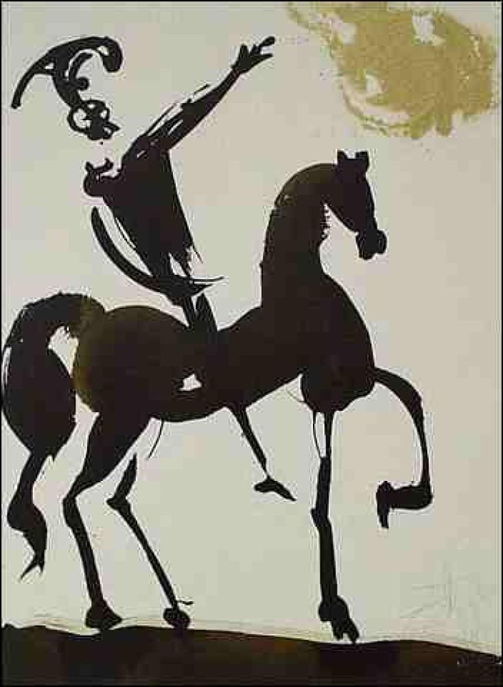 Salvador Dali Iosue Fortis In Bello (Joshua 10:12), Kanvas Tablo, Salvador Dali, kanvas tablo, canvas print sales