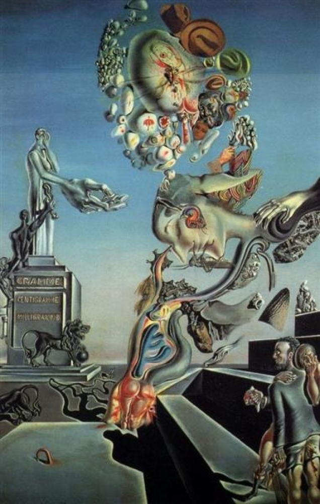 Salvador Dali Hüzünlü Oyun, Kanvas Tablo, Salvador Dali, kanvas tablo, canvas print sales
