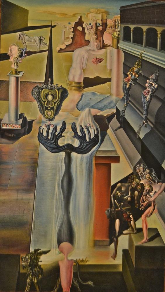 Salvador Dali Görünmez Adam, Kanvas Tablo, Salvador Dali, kanvas tablo, canvas print sales