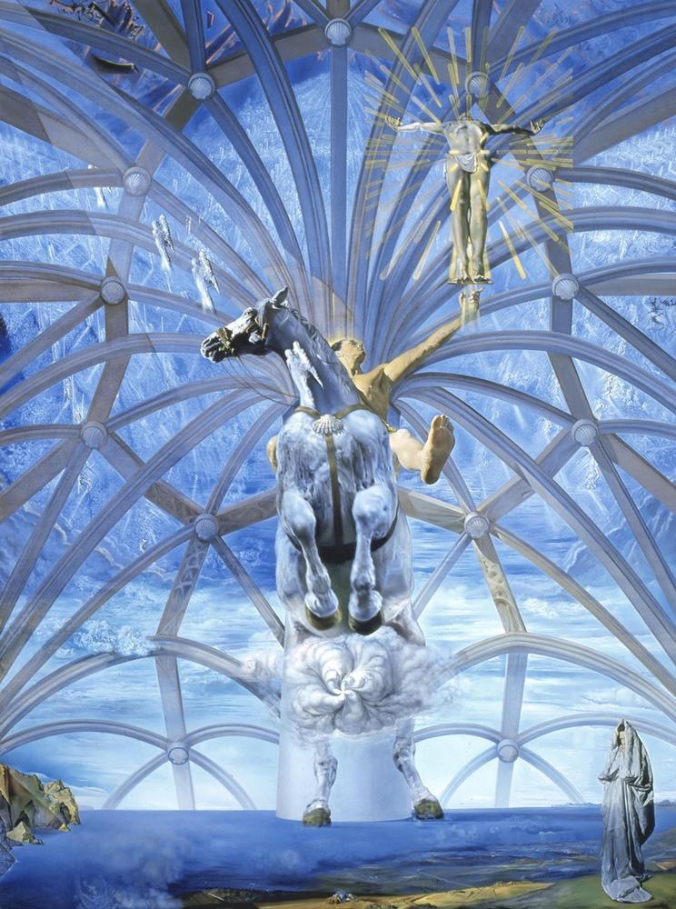 Salvador Dali Santiago El Grande, Canvas, Salvador Dali, kanvas tablo, canvas print sales