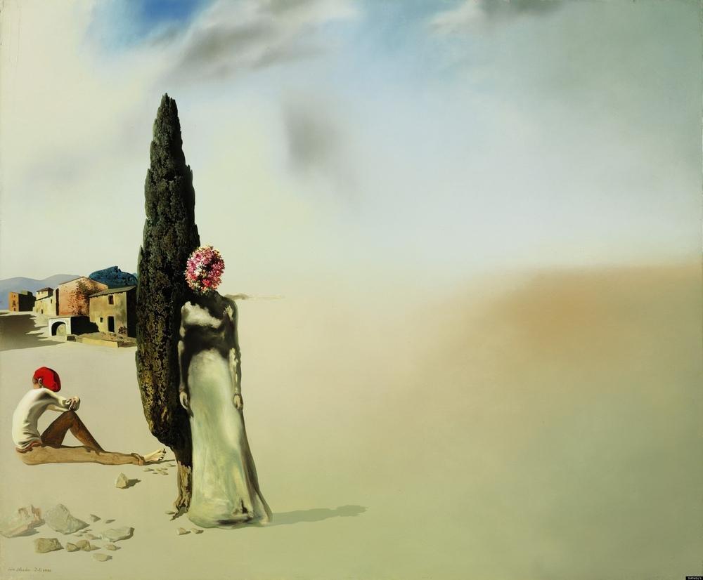 Salvador Dali Nekrofilik Bahar, Kanvas Tablo, Salvador Dali, kanvas tablo, canvas print sales
