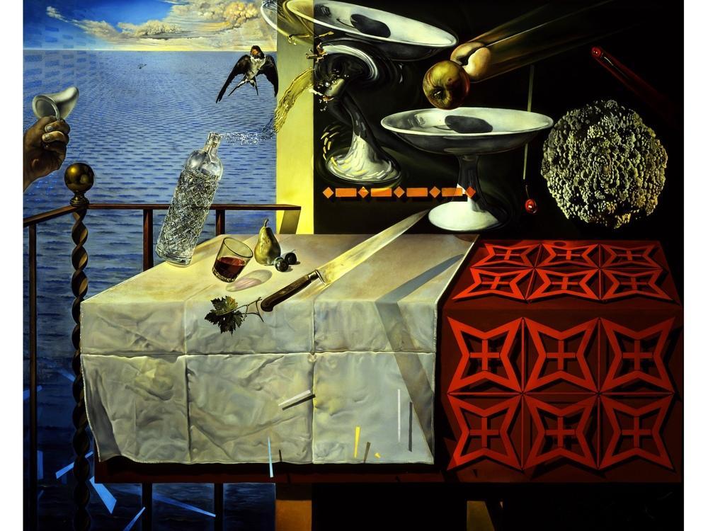 Salvador Dali Natürmort Yaşam, Kanvas Tablo, Salvador Dali, kanvas tablo, canvas print sales