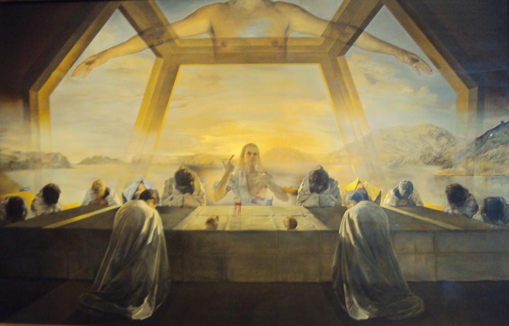 Salvador Dali Son Akşam Yemeği, Kanvas Tablo, Salvador Dali, kanvas tablo, canvas print sales
