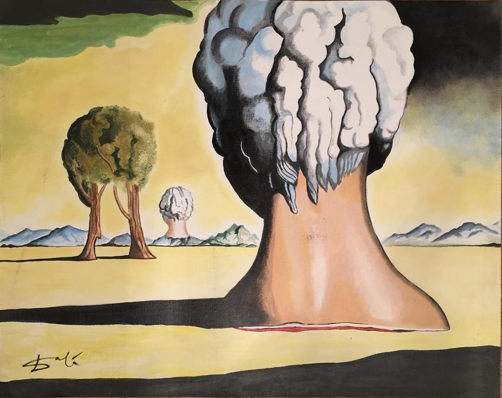 Salvador Dali Bikini Adasının Üç Gizemi, Figür, Salvador Dali, kanvas tablo, canvas print sales