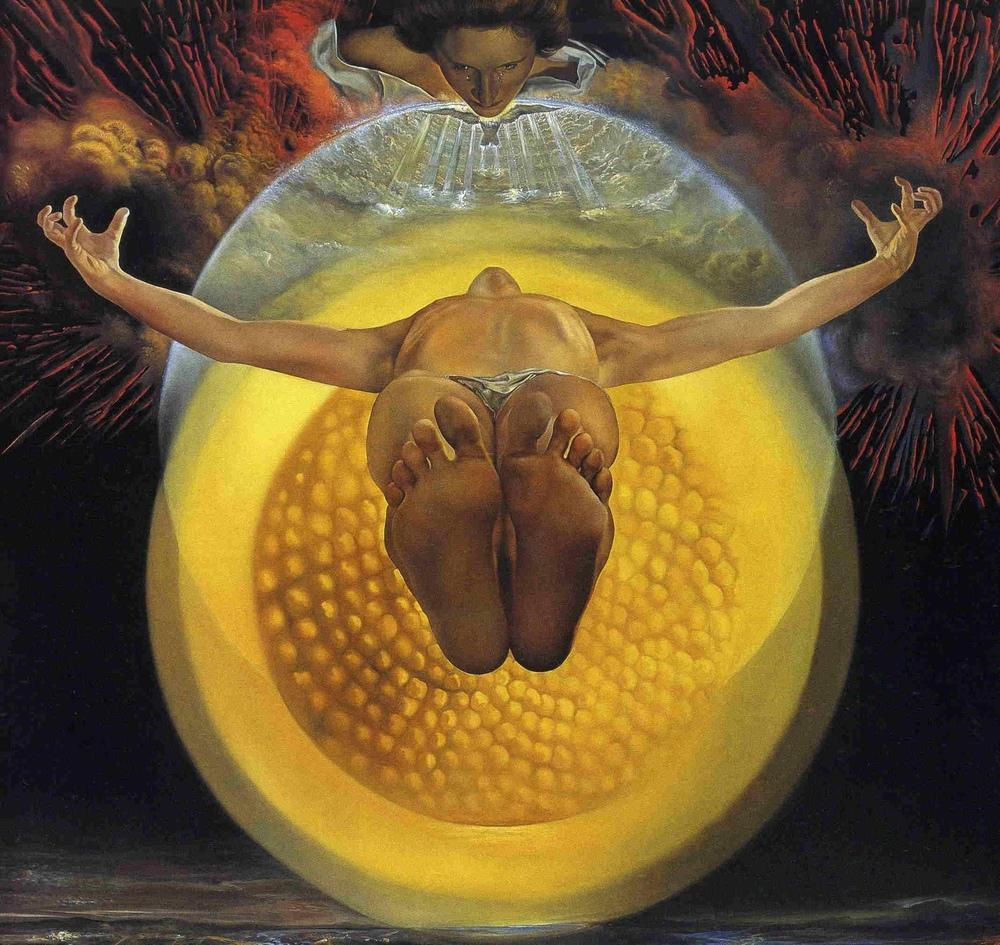 Salvador Dali The Ascension of Christ, Canvas, Salvador Dali, kanvas tablo, canvas print sales