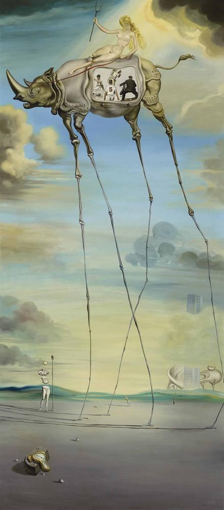 Salvador Dali Celestial Ride, Canvas, Salvador Dali