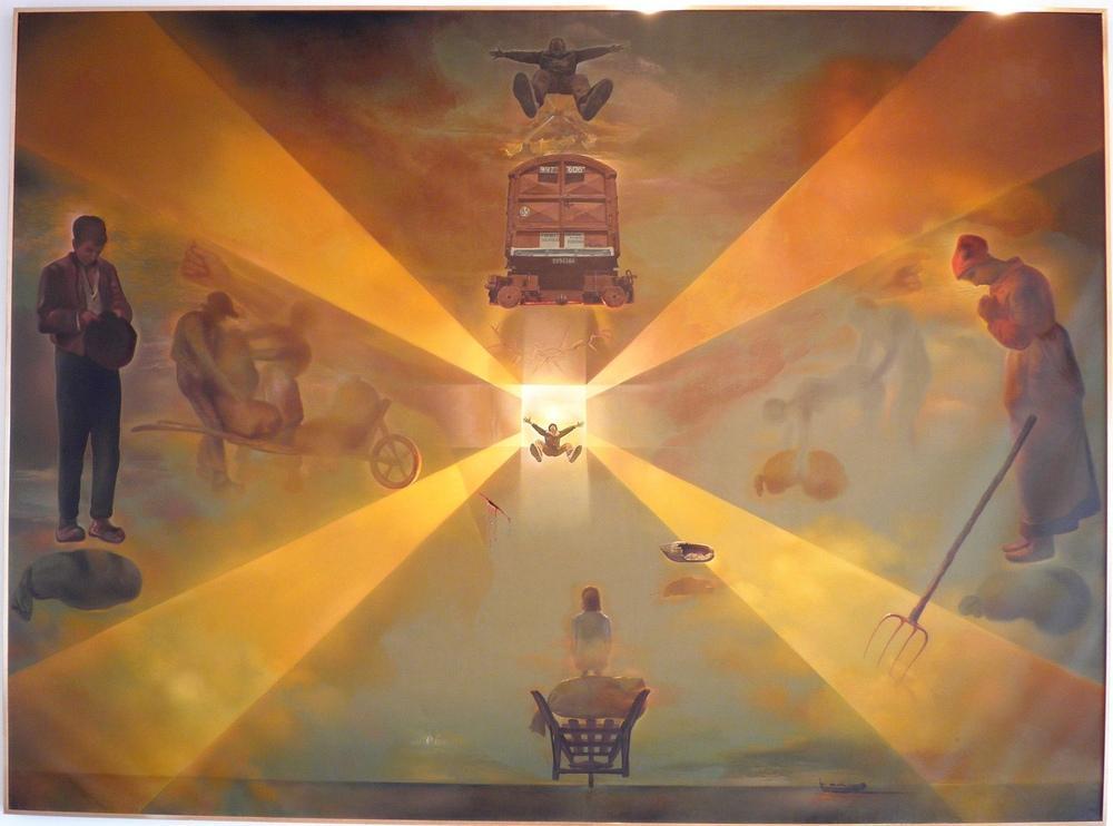 Salvador Dali Perpignan Tren İstasyonu, Kanvas Tablo, Salvador Dali, kanvas tablo, canvas print sales