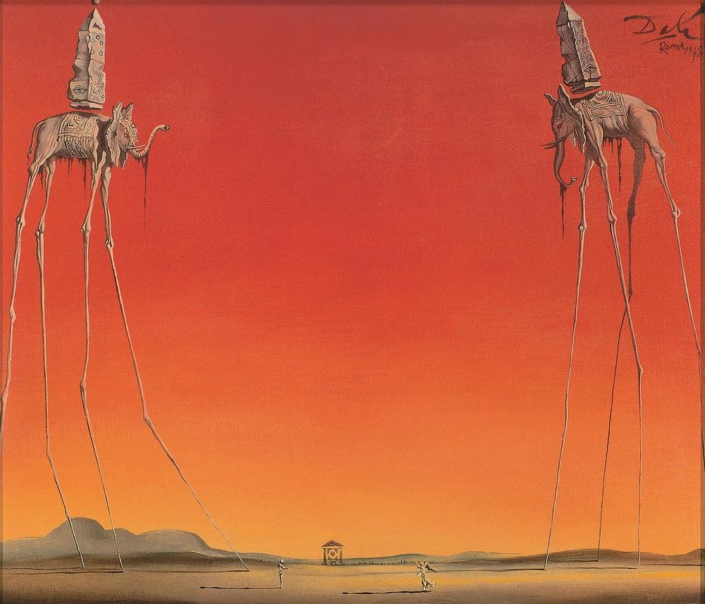 Salvador Dali Filler, Kanvas Tablo, Salvador Dali, kanvas tablo, canvas print sales