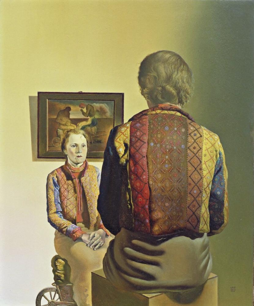 Salvador Dali Gala nın Portresi, Kanvas Tablo, Salvador Dali, kanvas tablo, canvas print sales