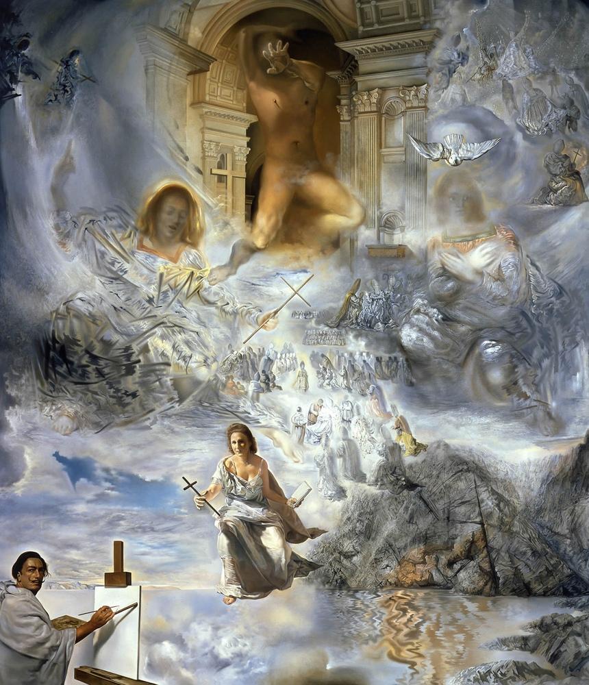 Salvador Dali Ekümenik Konseyi, Kanvas Tablo, Salvador Dali, kanvas tablo, canvas print sales
