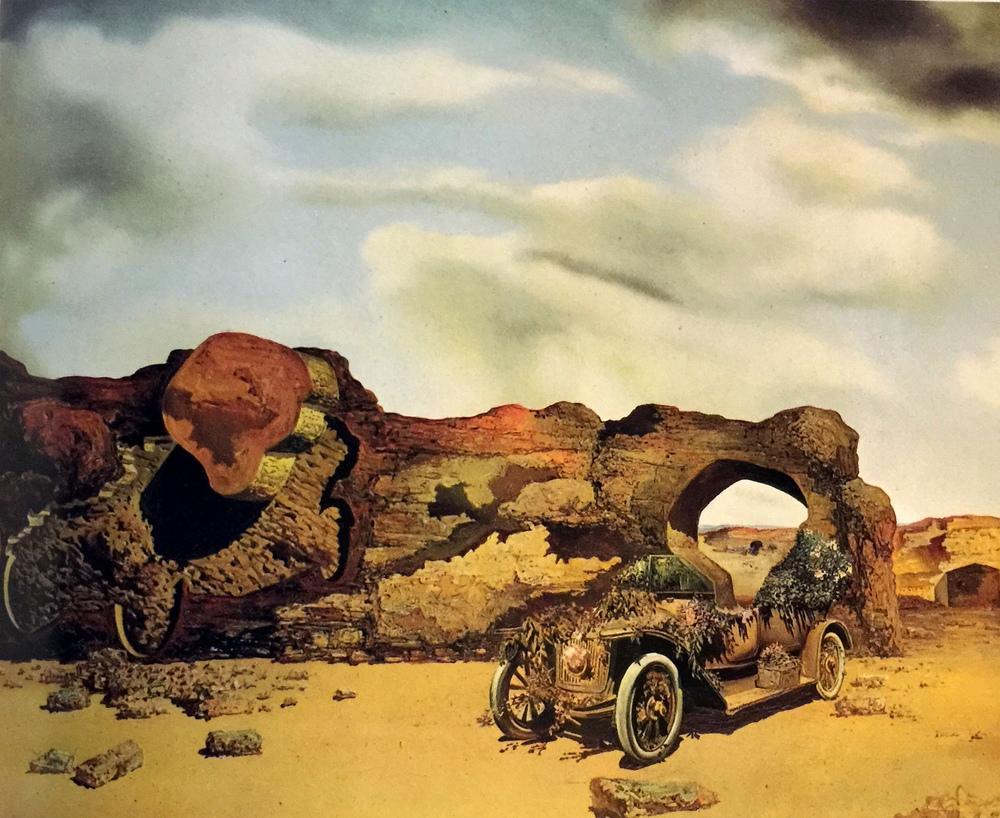 Salvador Dali Paranoyak Kritik Yalnızlık, Kanvas Tablo, Salvador Dali, kanvas tablo, canvas print sales