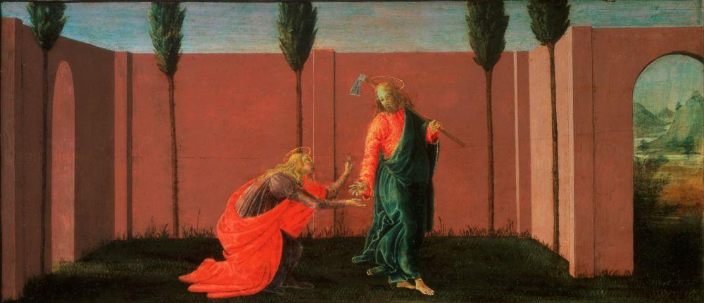 Sandro Botticelli, Noli Me Angere, Canvas, Sandro Botticelli, kanvas tablo, canvas print sales