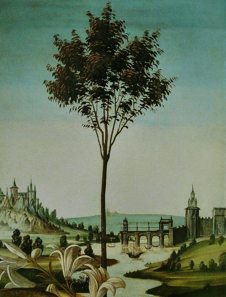 Sandro Botticelli, Annonciation, Cestello, Kanvas Tablo, Sandro Botticelli, kanvas tablo, canvas print sales