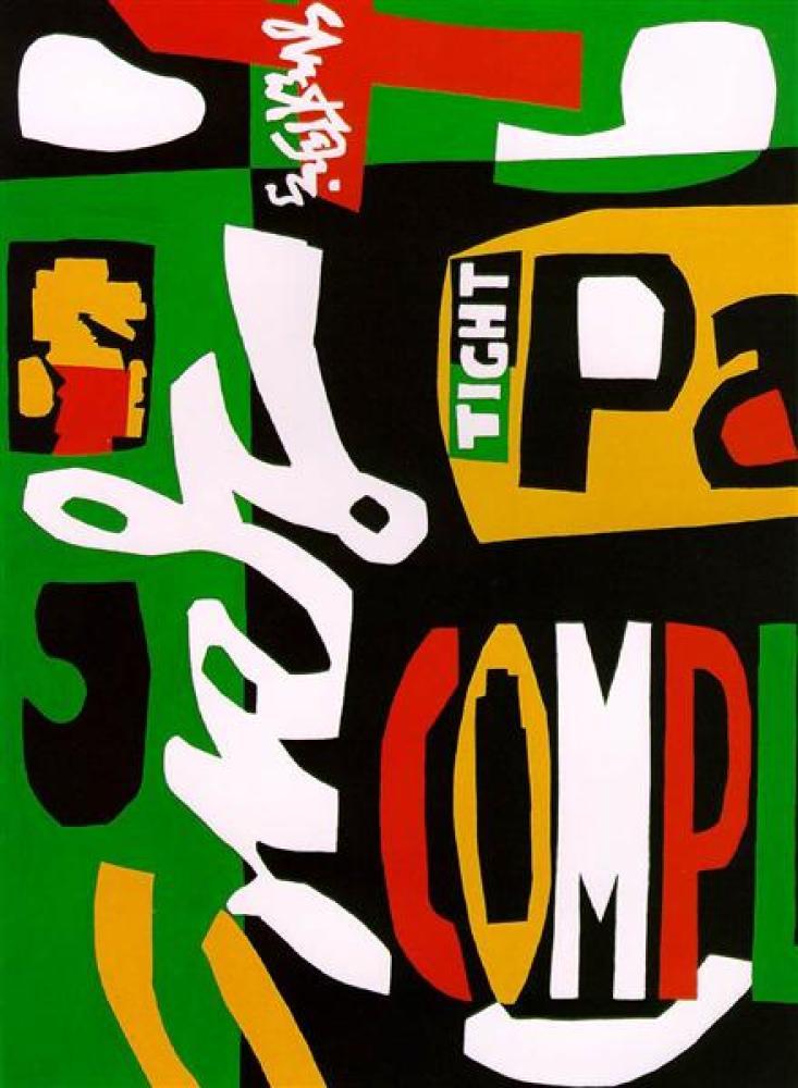 Stuart Davis Blips And Ifs Soyut Sanat Eseri, Kanvas Tablo, Stuart Davis, kanvas tablo, canvas print sales