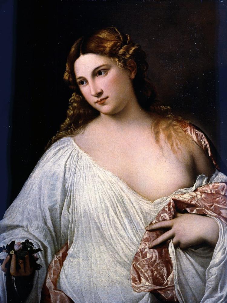 Titian Flora, Canvas, Titian, kanvas tablo, canvas print sales