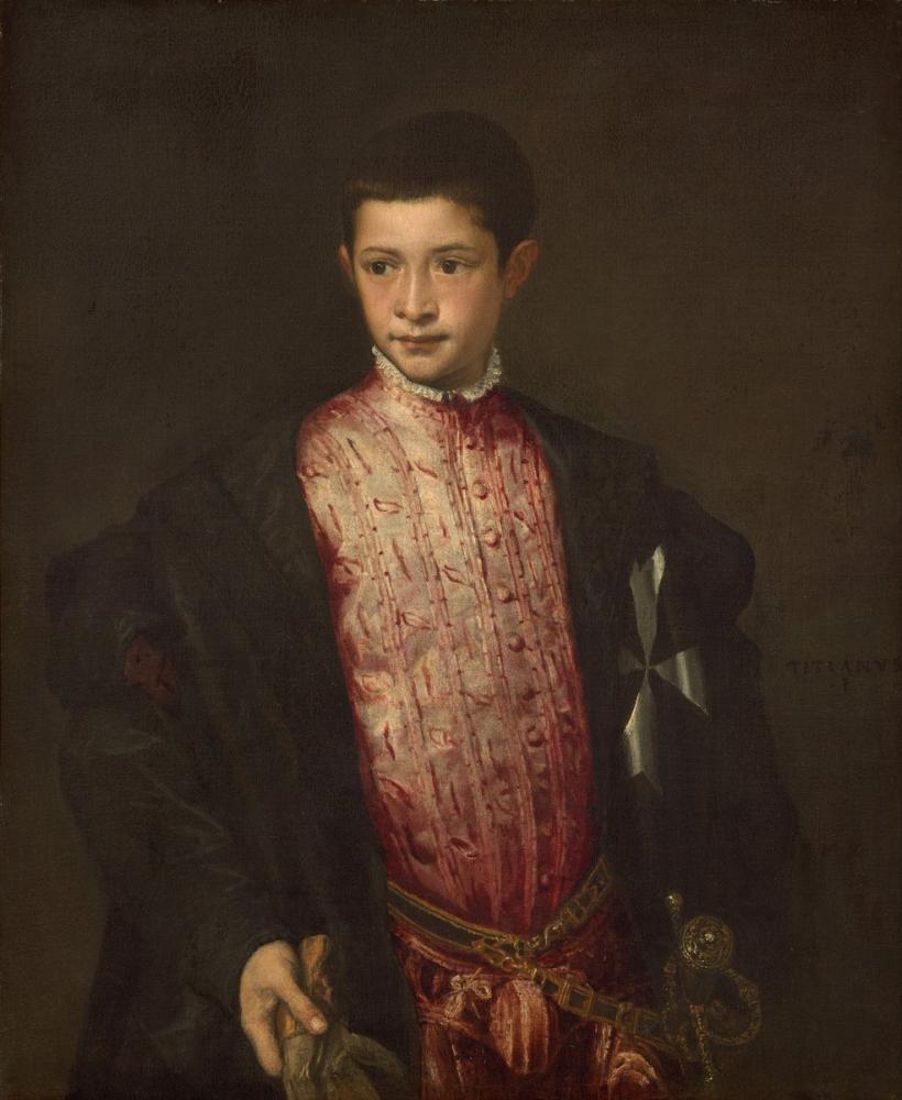 Titian Ranuccio Farnese, Kanvas Tablo, Titian, kanvas tablo, canvas print sales