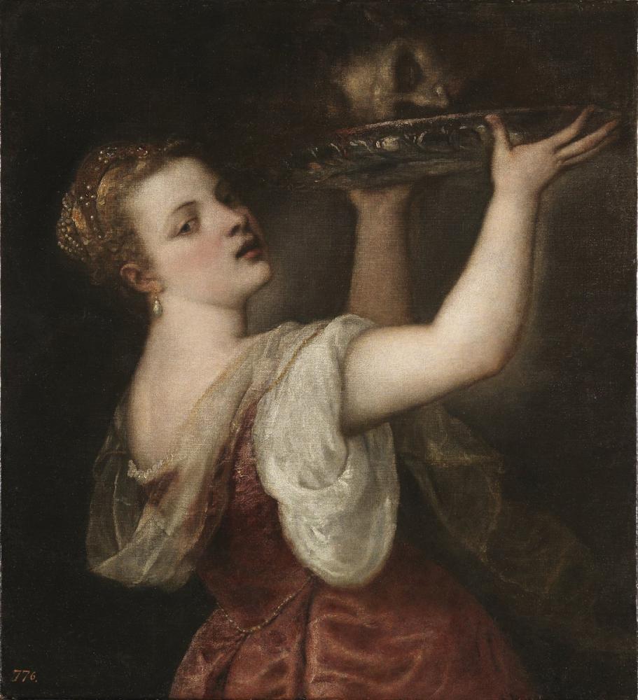 Titian Vaftizci Yahya Başıyla Birlikte Salome, Kanvas Tablo, Titian, kanvas tablo, canvas print sales