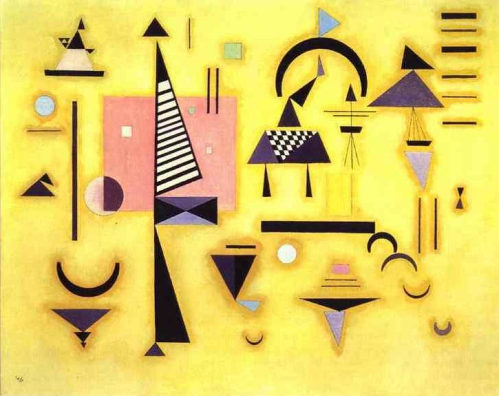 Vassily Kandinsky İzlenim 3, Kanvas Tablo, Vasily Kandinsky, kanvas tablo, canvas print sales