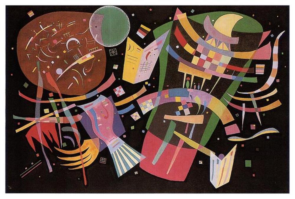 Vassily Kandinsky Kompozisyon 10 Yağlıboya Tablo, Kanvas Tablo, Vasily Kandinsky, kanvas tablo, canvas print sales