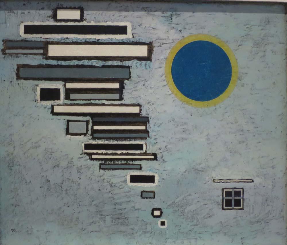 Vassily Kandinsky Unequal Eşitsiz, Kanvas Tablo, Vasily Kandinsky, kanvas tablo, canvas print sales